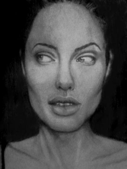 Angelina Jolie by SunrisePearl